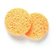 DMtse Natural Beige Cleansing Facial Sponges - 12 Pack