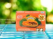 Asantee Papaya & Honey Soap + Q10 Skin Whitening Soap Asantee Herbal Thailand Lightening