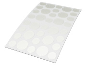 Derma Rehab Spot Repair Patches - Targeted Defence Against Pimples, Spots, Blemishes & Blackheads - Pack of 36 Gel Patches