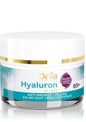 HYALURON FUSION by Delia - 60+ Anti-Wrinkle - Filling Day and Night Cream Concentrate - 50ml