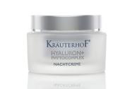 KräuterhoF Hyaluron+Phytocomplex Night Cream/ Regenerating and refreshing, 50 ml
