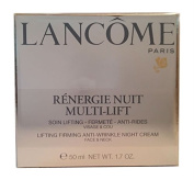 LANCOME RENERGIE NUIT MULTI-LIFT LIFTING FIRMING ANTI-WRINKLE FACE & NECK NIGHT CREAM 50ML