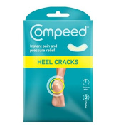 Johnson and Johnson Compeed Cracked Heel Patches/Plasters x 2