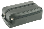 David Hampton Oxford Leather Toiletry Kit