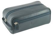David Hampton Oxford Leather Toiletry Kit