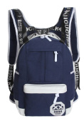 Canvas Hat Backpacks Schoolbags Travel Bag Large Capacity Backpack 5#