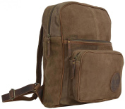 "Gusti Leder studio ""Steven"" Genuine Leather Rucksack Backpack Satchel Smart Everyday Work Uni College 40cm Laptop Bag Antique Brown Unisex 2M34-26-1"