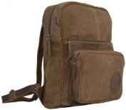 """Gusti Leder studio """"Steven"""" Genuine Leather Rucksack Backpack Satchel Smart Everyday Work Uni College 40cm Laptop Bag Antique Brown Unisex 2M34-26-1"""