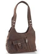 Greenburry Small Purse with Shoulder Bag Vintage Revival Vol.1 Women's Saddle Brown Leather 31 x 27 x 14 CM