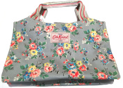 Cath Kidston New Matt Oilcloth Kingswood Rose Mini Tote Bag In Grey £38.99