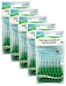 TePe 0.8 mm Size 5 Original Interdental Brush - Pack of 5, Total 40
