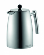 Dualit Dual-Filter Cafetiere, Polished Stainless Steel