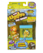 The ugglys Pet Shop Series 1 Gross Homes with Exclusive Gross Goldfish!