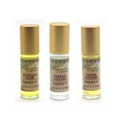Kuumba Made Fragance Oil Variety Pack (Egyptian Musk, Persian Garden, Water Goddess), 30ml