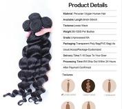 Goood Hair Peruvian Virgin Hair Bundles 4pcs 6a Unprocessed Human Hair Weaves Peruvian Loose Wave Natural Black Rosa Hair Products 50g/ps 4pcs/ Lot -Total 200g