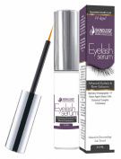 Eyelash Growth Serum - Thicker, Longer Eyelashes & Eyebrows Enhancer with Myristoyl Pentapeptide-17 & Swiss Apple Stem Cells - Dermatologist Tested Product - 3.5 ml - 4 Month Supply