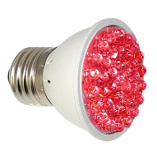 RubyLux ALL RED High Intensity LED Bulb