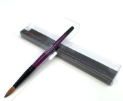 Pana Kolinsky Brush (High End Quality 100% Pure Kolinsky Hair) Size # 8
