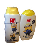 Despicable Me Body Wash & Shampoo Set - Banana and Mango Scented