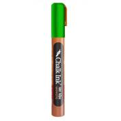 Chalk Ink Metallic Wet Wipe Marker, 6 mm, Beetle Bug Green