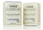 Savon de Marseille 100g Lavender Bath Soap in Paper Wrap