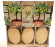 La Florentina Lemon House Soap Set 3x150g