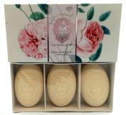 La Florentina Luxury Rose di Maggio 3x150g Soap Set