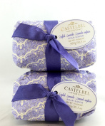 Castelbel English Lavender 300gram Bath Soap Bar - 2 Bars