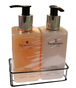 Pecksniffs Orange & Cinnamon Hand Wash and Body Lotion Duo