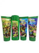 Teenage Mutant Ninja Turtles Bath Set Bundle of 4 Items