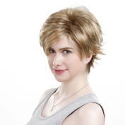 ACVIP Women's Short Synthetic Hair Full Wig