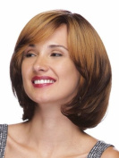 Marian® Fashion Synthetic Short Layered Straight Wigs for Women Ombre with Side Bang + a Wig Cap Sw0342