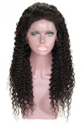 Cbwigs New Gluless Full Lace Human Hair Wigs for Black Women 100%indian Remy Hair Curly Human Hair Wigs with Baby Hair 120% Density