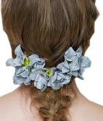 EOZY Women Bride Handmade Artificial Flower Hair Clip Hawaiian Beach Holiday Headwear