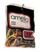 Amelia Beauty 125 Count Jumbo Elastic Rubber Band Pony Tail Holders
