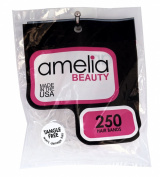 Amelia Beauty 250 Count Tangle Free Band Pony Tail Holders