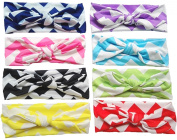 Qandsweet Baby Girl's Soft Headbands