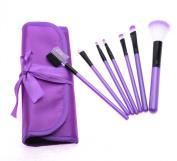 7pcs Basic Make Up Soft Cosmetic Brushes Set One Gag for Women MB002