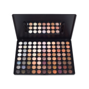 Supermodels Secrets 88 Colour Eyeshadow Make Up Palette - Matte