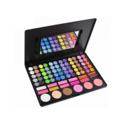 Supermodels Secrets 78 Colour Eyeshadow Blusher Lipgloss Make Up Palette 3rd Edition