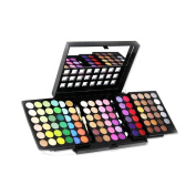 Supermodels Secrets 96 Colour Blockbuster Triple Layer Professional Eyeshadow Palette Set