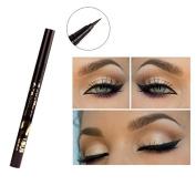 Black Eyeliner Pen Pencil Permanent Dazzle Black Ultra-fine Liquid Eye Liner Waterproof and Smudge-proof