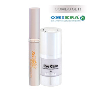 Dark Circles Under Eyes Treatment Serum + Eyelash Growth Serum, Lash Growth, Eyelash Enhancer, Eyelash & Eyebrow Conditioner Treatment Revimour (10ml) Anti Ageing Products By Omiera Labs.