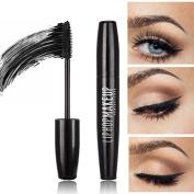 Waterproof Mascara Makeup Long Eyelash Silicone Brush Curving Lengthening Colossal Mascara