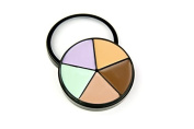 Crown Brush Professional Makeup Palette Corrector Wheel ~ Correct, Conceal, Hilight