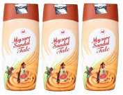 Mysore Sandal Talcum Powder 300g Powder By KSDL, 310mls - 100% Pure Sandalwood Oil - No Harsh Chemicals (Pack of 3 -
