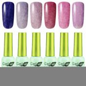 Gellen Grass & Silk Series Gel Nail Polish Colours Set Capacity 12Ml Each 6Pcs Group#06