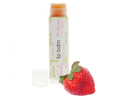 Strawberries -n- Cream, Nature's Silk Lip Balm Botanical Beet Juice Tint Organic Pink Nourishing Shea Ecofriendly