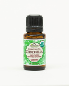 US Organic 100% Pure Citronella Essential Oil - USDA Certified Organic - 15 ml