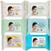 Kareway Epielle Assorted Makeup Remover Cleansing Towelettes, 30 Counts